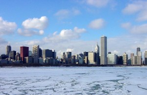 chicago-in-a-wintertime