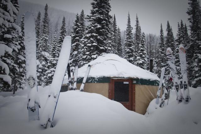 Bell Lake Yurt, Tobacco Root Mountains, Montana