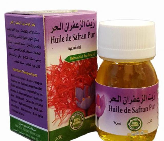 olejek szafranowy